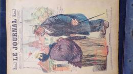 75-PARIS-REVUE LE JOURNAL-22 FEVRIER 1900-ILLUSTRATEUR C. HUARD-LA PROVINCE MLLE ESTELLE- ANDRE HELLE-SANDY HOOK-BIAIS - Books, Magazines, Comics