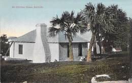 CARIBBEAN Caraïbes West Indies Antilles - BERMUDA Bermudes - An Old Time House - CPA - Caribe Caraibi - Bermudes