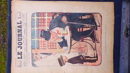 75-PARIS-REVUE LE JOURNAL-8 FEVRIER 1900-ILLUSTRATEUR ABEL FAIVRE- CHASSEUR HOTEL RESTAURANT-LAPIN-FERNAND FAU-JARACH - Books, Magazines, Comics