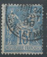 Lot N°38313  N°90, Oblit Cachet à Date De SEINE ET MARNE - 1876-1898 Sage (Type II)