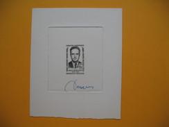 Epreuve D'artiste  Année 1958 N° 1157 Jean Cavaillès Signé Decaris - Prove Di Lusso