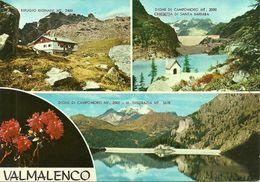 Valmalenco (Sondrio, Lombardia) Vedute: Rifugio Bignani, Dighe Di Campomoro E Chiesetta Santa Barbara, Monte Disgrazia - Sondrio