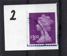 GB 2009-2017 £3.00 SECURITY MACHIN Used MAIL MAIL - Machins