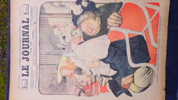 75-PARIS-REVUE LE JOURNAL-4 JANVIER 1900-ILLUSTRATEUR ABEL FAIVRE-AU THEATRE OPERA- CHAPEAU-LEON DUFOUR PIED DE GRUE- - Books, Magazines, Comics