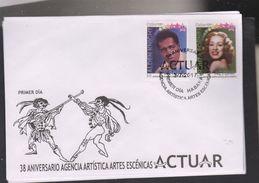 L) 2017 CUBA, 38th ANNIVERSARY ARTISTIC AGENCY SCENIC ARTS, PERFORMANCE, ART, ROSITA FORNES, THEATER, CINEMA, ALDEN KNIG - FDC
