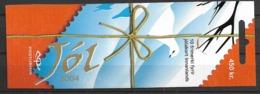 2004 MNH Iceland, Christmas,  Postfris - Cuadernillos/libretas