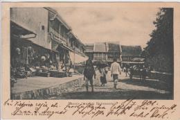 AK - Indonesien - Buitenzorg Passer - Am Markt - 1901 - Indonesien