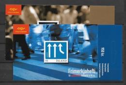 2006 MNH Iceland, Europa, Postfris - Cuadernillos/libretas