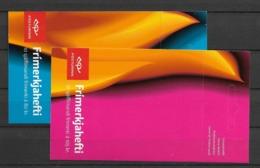 2007 MNH Iceland, Europa, Postfris - Cuadernillos/libretas