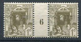 Algérie              34 **  Paire Millesime 6 - Neufs