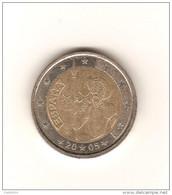 ESPAGNE 2005 / 2 Euros  DON QUICHOTTE Pièce Commémorative / De Circulation / Bon Etat - Espagne