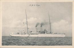 S.M.S. TIGER  - Kanonenboot , 1914 Vor Tsingtau Selbst Versenkt - Krieg