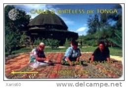 TONGA: TON-01 From First Issue 1CTGA Rare And Old - Tonga
