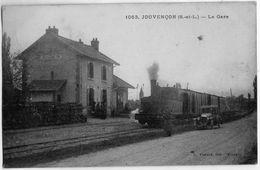 1063.  JOUVENCON  (S.-et-L.)  --  La Gare - France