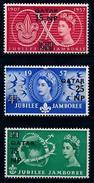 [68232] Qatar 1957 Jamboree Scouting OVP On GB Stamps  MNH - Qatar