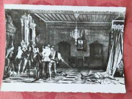 Dep 41 , Cpsm  BLOIS , 366 ,  Le Chateau , Le Musée , Assassinat Du Duc De Guise D'après Le Tableau De C.Comte  (049) - Blois