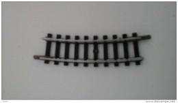 Trains électriques, Echelle N - 2 Rails Courbes - Virage 15° - Rayon 195 Mm - Rails