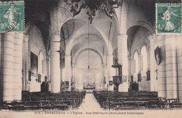 Cp , 16 , BARBEZIEUX , L'Église , Vue Intérieure (monument Historique) - France