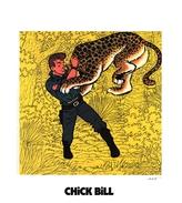 55. TIBET.  CHICK BILL - Ex-libris