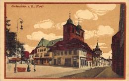 Oschersleben / Color Gel.1918 Markt - Oschersleben