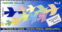 PAKISTAN MNH (**) STAMPS (2012 The 50th Anniversary Of APPU - Asian-Pacific Postal Union ) - Pakistan