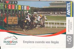 URUGUAY - Horses, Maronas Entertainment(339a), 07/04, Used - Uruguay