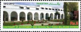 PAKISTAN MNH (**) STAMPS (2012 The 100th Anniversary Of Government High School No 1, Thana Malakand ) - Pakistan