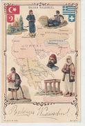 Balkan Halbinsel Bei Der Jahrhundertwende - Litho      (171017) - Eventos