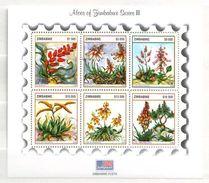 Zimbabwe 2004 Aloes Du ..... Minisheet  6 V. Mint ** - Zimbabwe (1980-...)