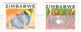 Zimbabwe 2004 Techniques De Protection Au , Conservation Practices In Zimbabwe - 2 V. Mint ** - Zimbabwe (1980-...)
