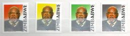 Zimbabwe 2004 The 1st Anniversary Of The Death Of Simon Vengai Muzenda (Co-Vice President), 1922-2003 4 V. Mint ** - Zimbabwe (1980-...)