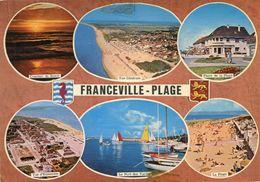 Franceville Plage Circulee En 1978 - Francia