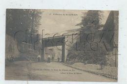 Saint-Gobain (02) :  Le Pont Du Chemin De Fer Pris De La Route De L'usine Route De Chauny En 1909 (animé) PF - Other Municipalities