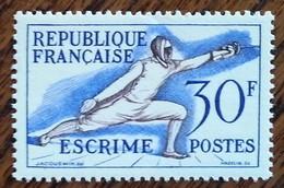France - YT N°962 - Jeux Olympiques D'Helsinki / Sports - 1953 - Neuf - Frankreich