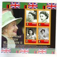 Zambia 2006 The 80th Anniversary Of The Birth Of Queen Elizabeth II Minisheet 4 V. Mint ** - Zambia (1965-...)