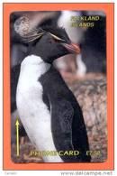 FALKLAND:FLK-1A £7.50 GPT Card 'Penguins' 1CWFA - Falkland Islands