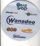 TAPIS DE SOURIS  WANADOO INTERNET AVEC FRANCE TELECOM - Sciences & Technique