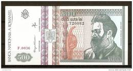 ROMANIA 1992 / 500 LEI / UNC - Romania