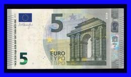 """5 EURO """"NA"""" AUSTRIA Firma DRAGHI N004 J6 CIRCULATE SEE SCAN!!!!!! - EURO"""