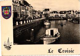 LE CROISIC .. LES QUAIS   ... BLASON .... CAFE DU CENTRE  ... 1958 - Le Croisic