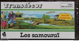 DECORAMA DECALCOMANIES TRANSFERT LITO - Les Samouraï - Old Paper