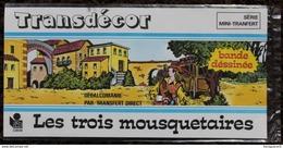 DECORAMA DECALCOMANIES TRANSFERT LITO - Les 3 Mousquetaires - Vieux Papiers