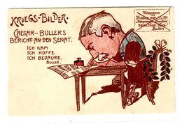 Carte Postale, Kriegsbilder Caesar Bullers Bericht, Suisse, Schweiz Ou Allemagne, Deutschland - Manoeuvres