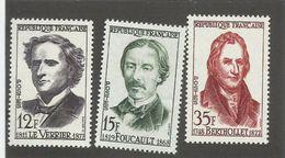 FRANCE - N°YT 1147/49 NEUFS** SANS CHARNIERE - COTE YT : 6.40€ - 1958 - France