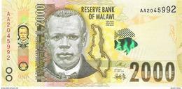 Malawi - Pick New - 2000 Kwacha 2016 - Unc - Malawi