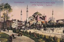 Turkey Constantinople Place Et Mosquee De Sainte Sophie - Turkey