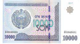 Uzbekistan - Pick New - 10.000 (10000) Sum 2017 - Unc - Uzbekistán