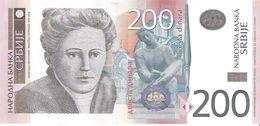 Serbia  - Pick 58 - 200 Dinara 2011 - Unc - Serbia