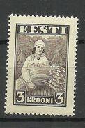 ESTONIA 1935 Harvesting Michel 108 MNH - Agriculture