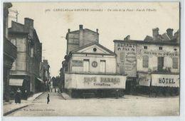 Cadillac Sur Garonne Un Coin De La Place - Cadillac